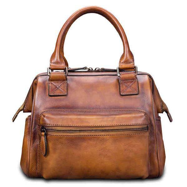 Sale, Fashion Full Grain Leather Messenger Bag, Shoulder Bag, Satchel Bag, Leath