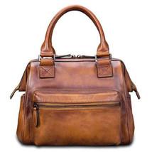Sale, Fashion Full Grain Leather Messenger Bag, Shoulder Bag, Satchel Bag, Leath image 1