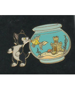 Figaro cat & Cleo fish Auctions P.I.N.S. Authentic Disney Pinocchio Pin ... - $99.99