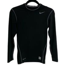 Nike Pro Compression men's/P/CH Black Dri Fit activewear (B-3C) - $16.85