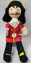 Pirate Puppet Captain Hook HearthSong Plush Toy Czech Republic  - $27.84
