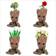Guardians of The Galaxy Baby Groot planter Pen Flowerpot / Tree Man Baby... - $134,10 MXN+