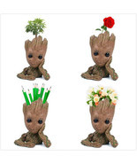 Guardians of The Galaxy Baby Groot planter Pen Flowerpot / Tree Man Baby... - €6,11 EUR+