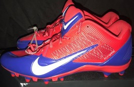 Nike Alpha Pro Buffalo Bill's Team Issue Cleats Size 11.5 - $27.32