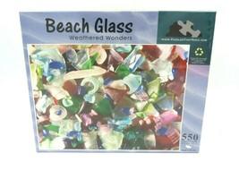 Beach Glass Weathered Wonders Jigsaw Puzzle 550 Pieces NEW - $17.77