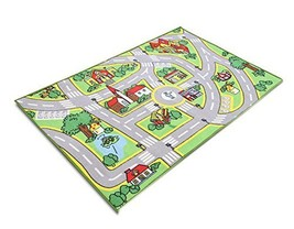 Baby Boys Early Education Traffic Track Floor Mat