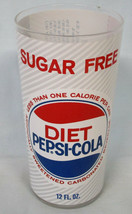 Sugar Free Diet Pepsi Glass from 1970's With Saccharin - $15.73