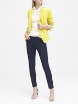 Women's Banana Republic Navy Blue Sloan Skinny-Fit Rayon Dressy Ankle Pa... - $19.80