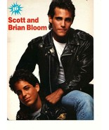 Scott Bloom Brian Bloom Rick Wes teen magazine pinup clipping leather ja... - $3.50