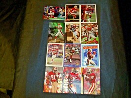 San Francisco 49er's Jerry Rice #80 Football Trading Cards AA-191805 Vintage Co image 2