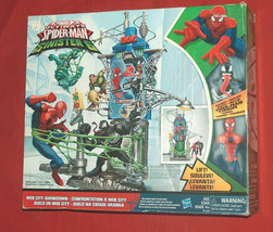 Marvel Ultimate Spider-Man vs The Sinister 6 Web City Showdown RARE Play Set NOB - $89.08