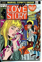 Our Love Story #23 1973-Marvel-romance stories-love triangle-Don Heck-G - $20.18