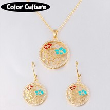 Jewelry Sets For Women Necklace Pendant Earrings  Party Costume Accessor... - $20.69