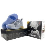 Nike PlayStation Shoes PG 2.5 + PS1 Classic Console Bundle Wolf Grey Bra... - $650.00
