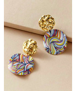 Earrings Colors of the Rainbow and Beyond! Boho Hippy Love - $6.65