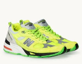 New Balance 991 X Aries YELLOW/SILVER Sneakers Women Shoes W991AFL - $216.00