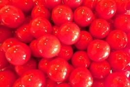 Gumballs Really Cherry 1 inch 1.5 Pound ( 24 OZ ) - $7.94