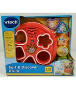 VTech Sort and Discover Drum BRAND NEW SHIPS VIA EXPEDITED SHIPPING - $19.79