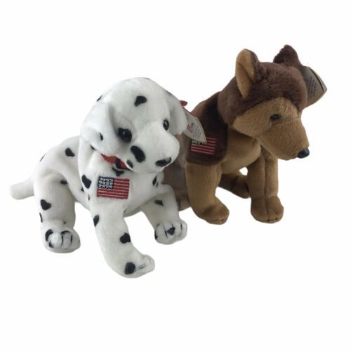 Primary image for Beanie Baby Babies 2001 Rescue FYPD Courage NYPD Dogs Lot Of 2 Lot With Tags