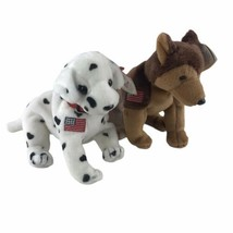 Beanie Baby Babies 2001 Rescue FYPD Courage NYPD Dogs Lot Of 2 Lot With ... - $18.55