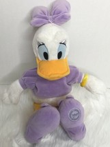 "Disney Store Daisy Duck Lavender Stuffed Plush 17"" - $20.78"