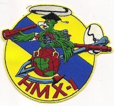 Usmc HMX-1 Us Marine Helicopter Squadron One Military Patch The Nighthawks Patch - $1,000.00