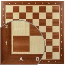 Professional Tournament Chess Board No. 5 - SMALL CORNER DAMAGE LOWER PRICE - $54.48