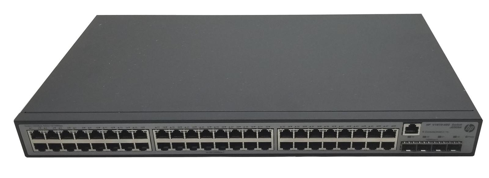 HP ProCurve Ethernet Switch V1910-48G JE009A 48x RJ-45 4x SFP 1U Bin:14