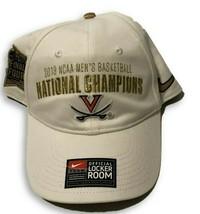 NWT New Virginia Cavaliers Nike 2019 Basketball Champions Logo Snapback Hat - $17.77