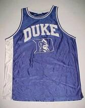 Duke Blue Devils Basketball NCAA ACC Apex One Team Logo White Jersey XL - $29.69