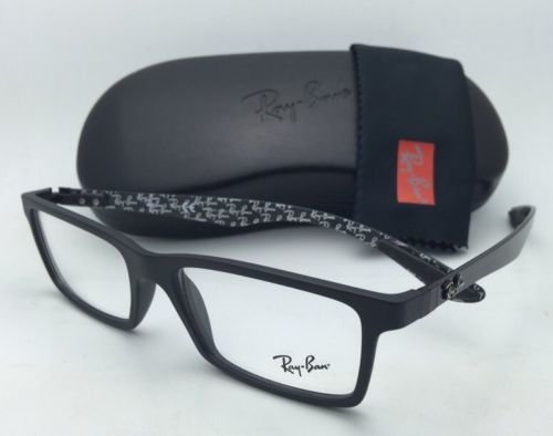 7a89acd19b7 New RAY-BAN Eyeglasses TECH SERIES RB 8901 5263 53-17 Black   Carbon