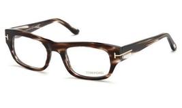 Tom Ford Rectangular Eyeglasses TF5415 050 Size: 50mm  Havana / Gold FT5415 - $106.92