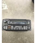 98-02 JEEP CHRYSLER DODGE RADIO STEREO W. EQUALIZER P56038623AF OEM - $62.89