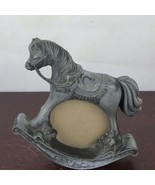 Photo Frame  Metal Rocking Horse - $14.03