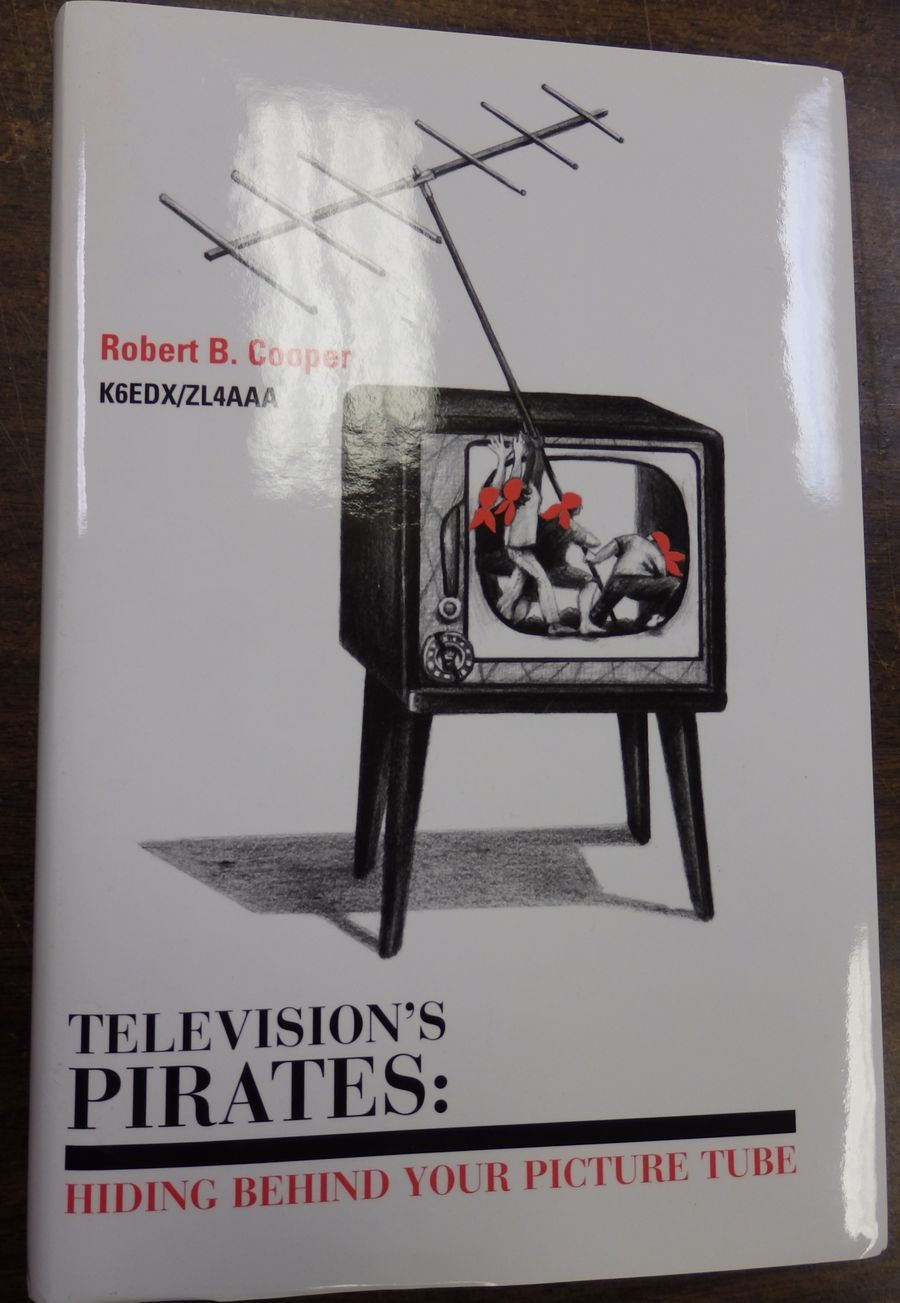 TELEVISION'S PIRATES, 928 page hard cover book
