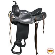 U-0-VX F104- HILASON WESTERN GAITED TRAIL PLEASURE ENDURANCE HORSE SADDL... - $345.95