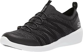 Skechers Women's Arya Sneaker, BLACK, 7 - $23.75