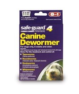 8 in 1 Pet Products Safe-Guard 4 Canine Medium Dog Tapeworm, Roundworm   - $8.99
