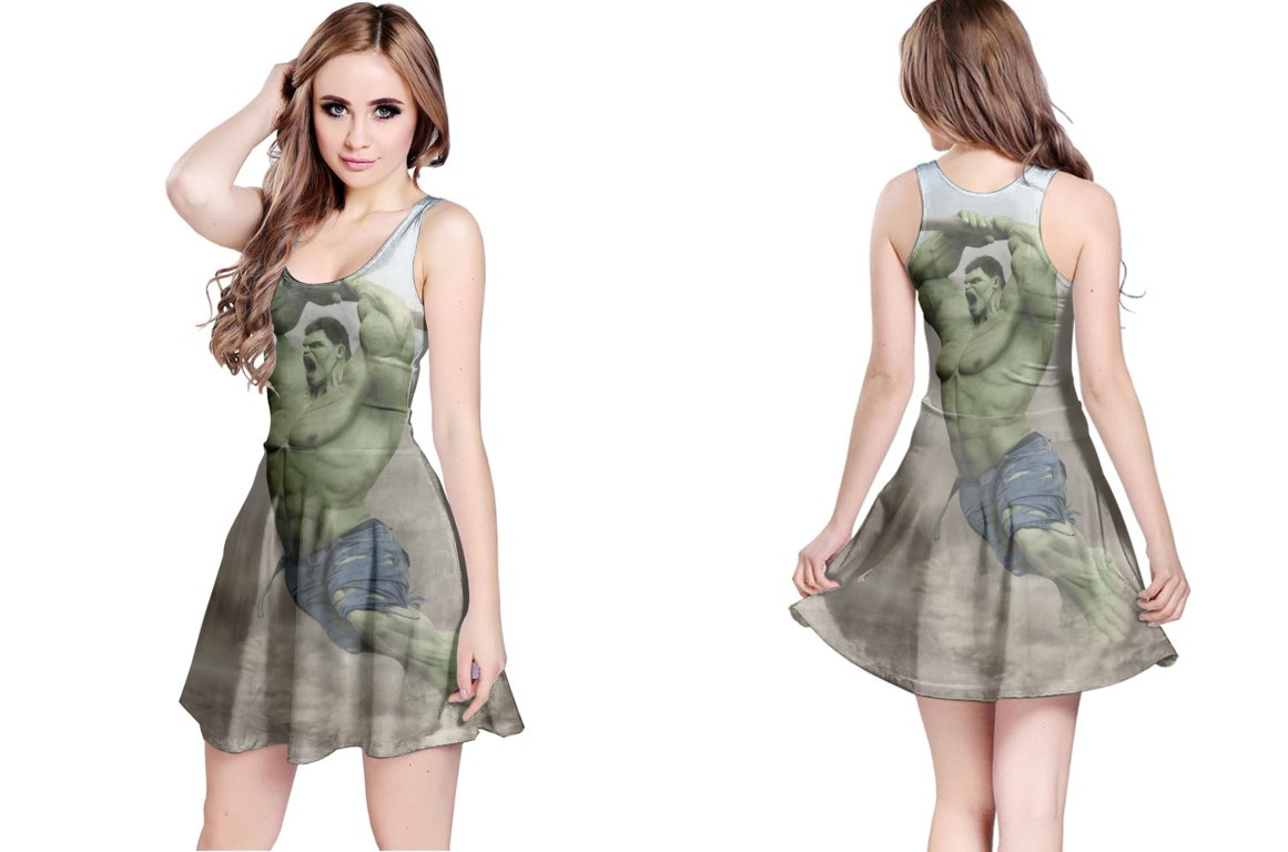 Primary image for Reversible Dress HULK marvel heroes comic image