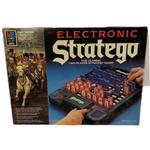 Electronic Stratego Strategy Board Game 1982 Milton Bradley Complete Rare - $64.34