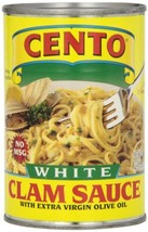 Cento White Clam Sauce, 15-Ounce Pack of 12