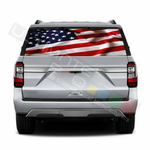 Country Flags Rear Window See Thru Stickers Perforated for Ford Expediti... - $59.80