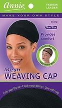 Annie Mesh Weaving Cap, Black