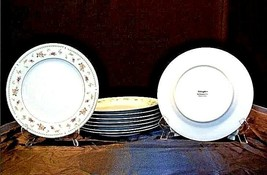 Abingdon Fine Porcelain China Dinner Plates Made in Japan AA18 - 1152-D ... - $99.95