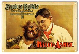 Kelly & Ashby Circus Reproduction Sign 12×18 - $19.80