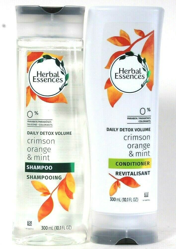 Herbal Essences Daily Detox Volume Crimson Orange Mint Shampoo & Conditioner Set - $19.99