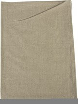 "Dunroven House Plain Weave Tea Towel 20""x28""-taupe #ibd - $11.29"