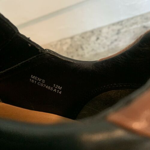 COLE HAAN casual dress Driving Loafer Slip On Black Leather Mens Sz 12 image 9
