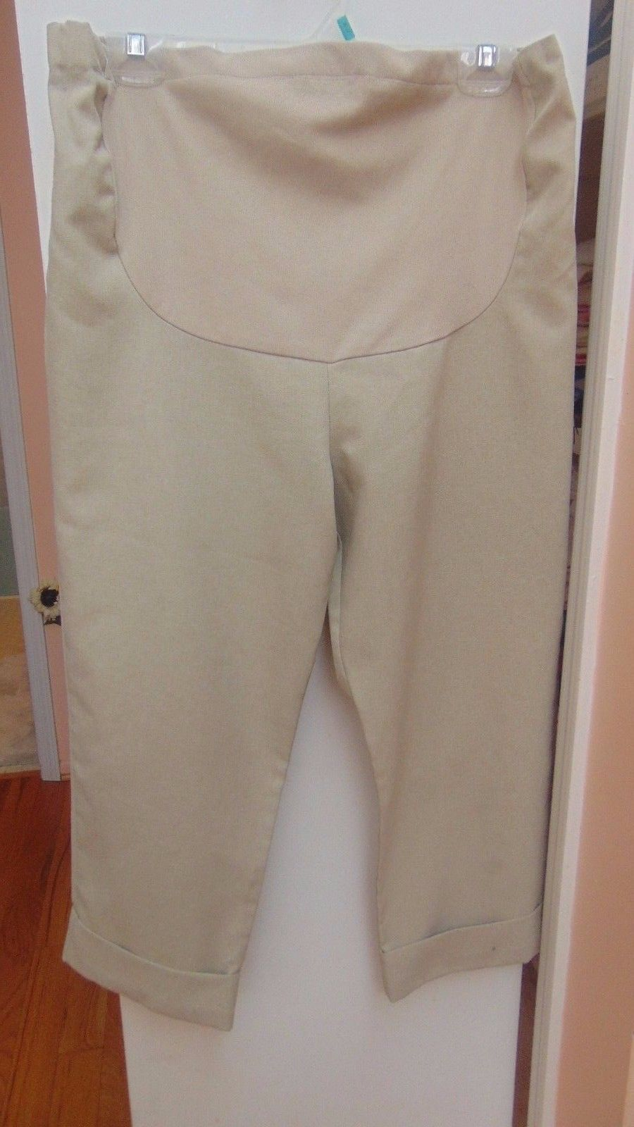 e26520a003f13 Maternity Duo Pant Beige Cuff Nylon Stretch and 50 similar items