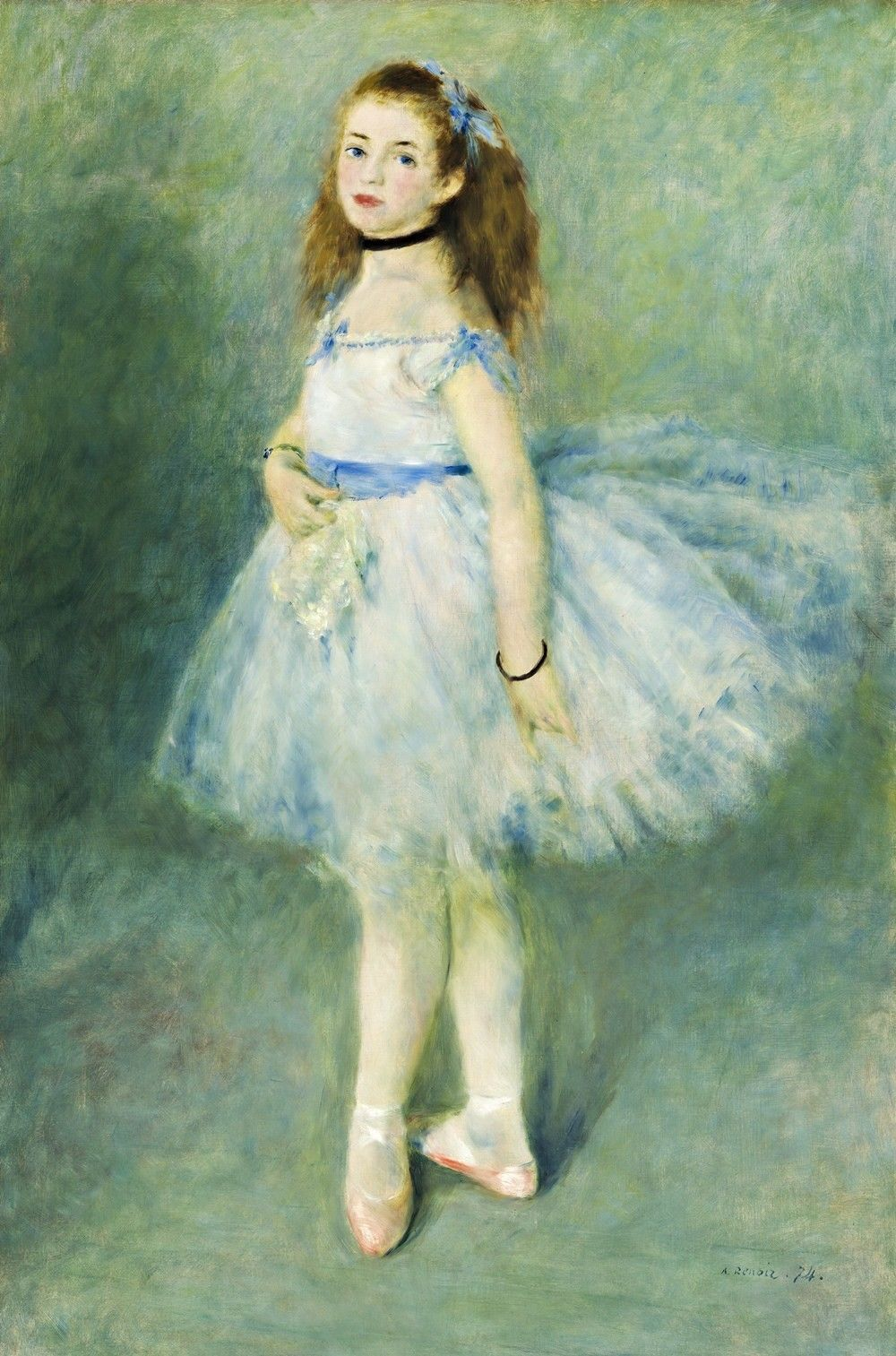 Primary image for The Dancer Painting by Auguste Renoir Art Reproduction